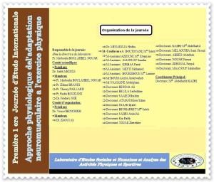 comités d'organisation